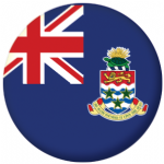 Cayman Islands Flag 25mm Flat Back